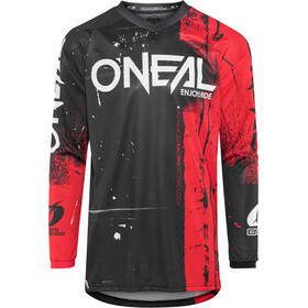 ONeal Element Maillot manga larga Hombre, SHRED red